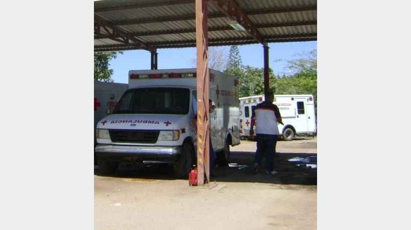 Mientras evalúan a los elementos que presenciaron el ataque armado y los daños en ambulancia, la CNE prestará los servicios(Archivo GH)