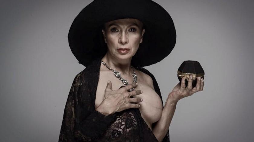 Patricia Reyes Spíndola enfrentó el cáncer de mama en 2011 y desde entonces promueve la prevención de la enfermedad.(Tomada de la red)