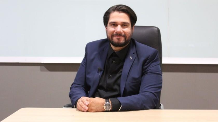 Abraham Castillo Cantú, estudia el tercer semestre del MBA de Universidad Xochicalco.(Cortesía)