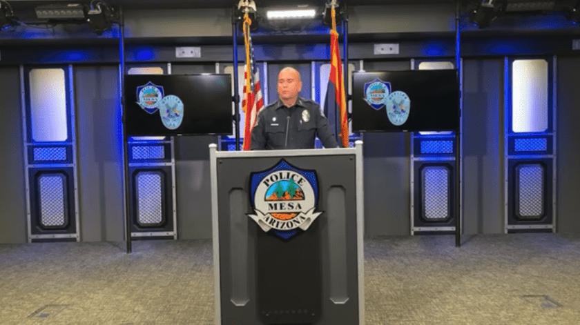 Ken Cost, jefe del Departamento de Policía en Mesa, consideró como inaceptable la agresión.(Especial)