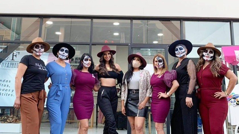 """Fue organizada por la diseñadora de moda Cynthia Franco en colaboración con una agencia de modelos y la asociación """"Apoyo Adelante"""".(Facebook Cinthya Franco)"""