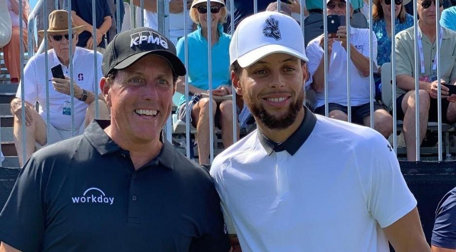 Se anuncia duelo de golf benéfico en parejas entre Mickelson-Barkley contra Curry-Manning