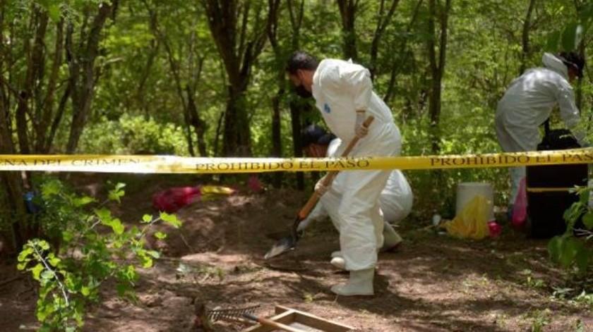 Fiscalía de Sinaloa reconoce que existen mil 217 cuerpos sin identificar desde 2006(EFE)