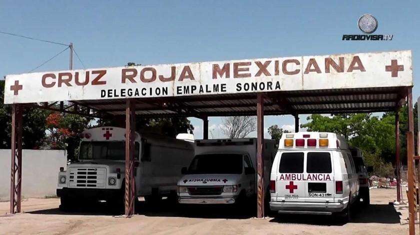 La Cruz Roja de Empalme reactivó sus servicios tras el ataque en una de sus ambulancias.(Mayra Echeverría)