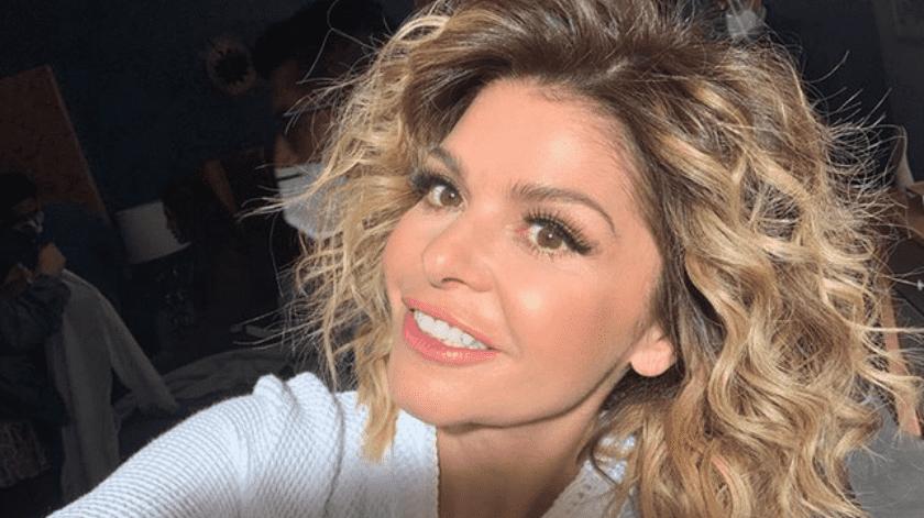Itatí Cantoral tiene 45 años actualmente.(Instagram.)