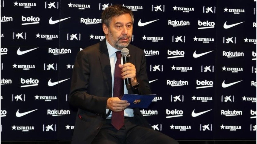 Bartomeu ausente en el primer partido del Barcelona en la Champions por confinamiento(Instagram @jmbartomeu)