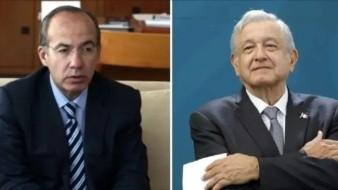 Felipe Calderón pide que AMLO se disculpe por apodos tras incidente con