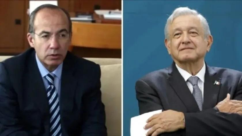 """Felipe Calderón pide que AMLO se disculpe por apodos tras incidente con """"El Chapo""""(El Universal)"""