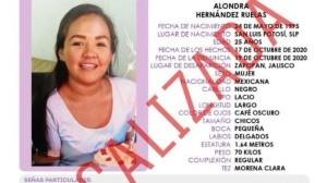 Localizan con vida a la doctora Alondra en Colima; desapareció en Zapopan