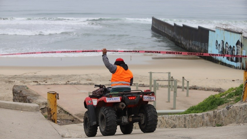 Cierran playas de Tijuana por derrame de aguas negras(Archivo)