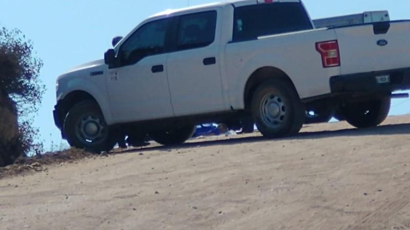 Ejecutan a joven en un tramo de terracería en Valle Bonito(Margarito Martínez)