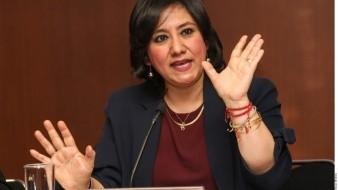 La titular de la SFP, Irma Eréndira Sandoval Ballesteros, informó a través de un comunicado las sanciones impuestas a dos empresas