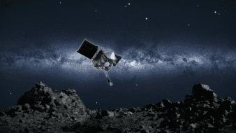 La NASA aterriza por primera vez en un asteroide tras casi dos años estudiándolo