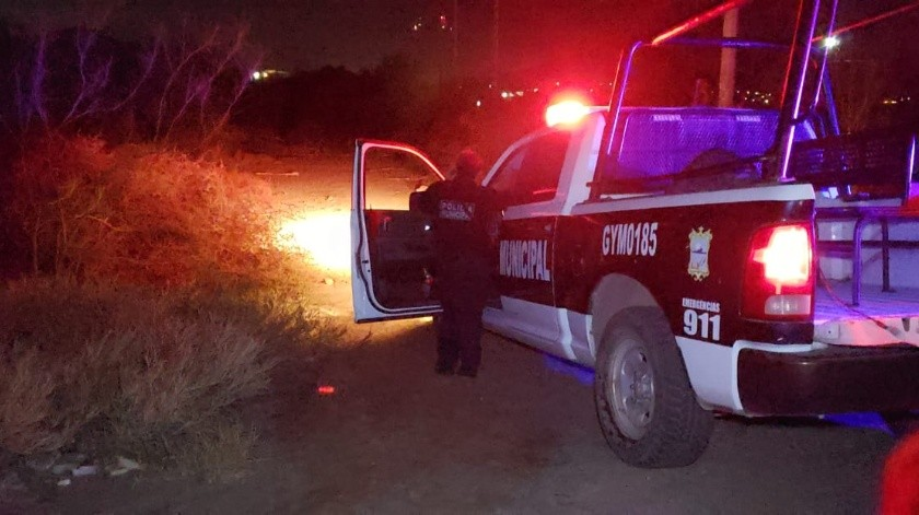 La Policía Municipal acudió al Sur de Guaymas tras un reporte de una osamenta humana(GH)