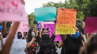 Feministas protestan por feminicidio de Ayelín, de 13 años, en Guerrero