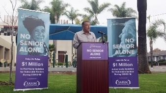 Reunirán fondos para adultos mayores afectados por Covid-19