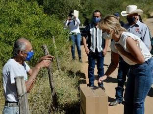 La gobernadora Claudia Pavlovich Arellano visitó ayer los municipios de Ónavas, Suaqui Grande y San Javier.