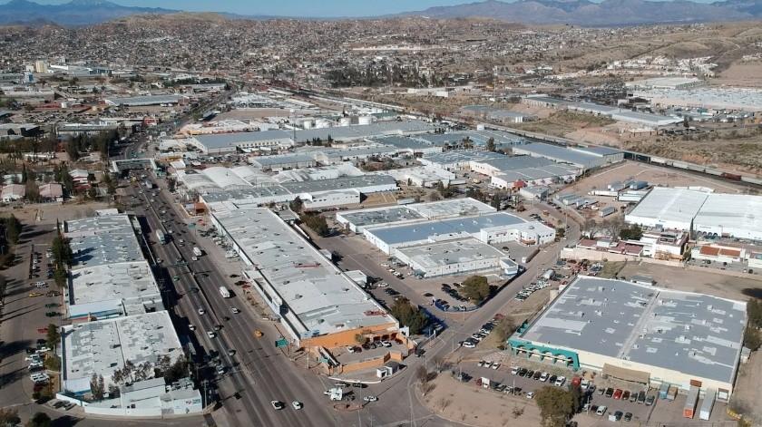 Parque Industrial de Nogales, Sonora.(Rubén Ruiz/ELIMPARCIAL)