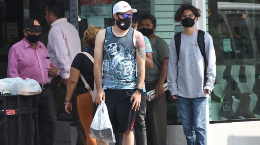 La Secretaría de Salud insistió en mantener las medidas preventivas del Covid-19 como utilizar el cubre bocas en espacios en donde no se garantice la sana distancia.
