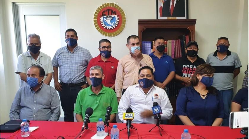 Apoya CTM Cajeme emplazamiento a huelga estatal(Mayra Echeverría)