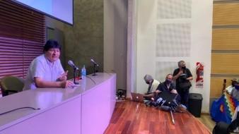 Evo Morales agradece al gobierno mexicano su apoyo a través de sus redes sociales
