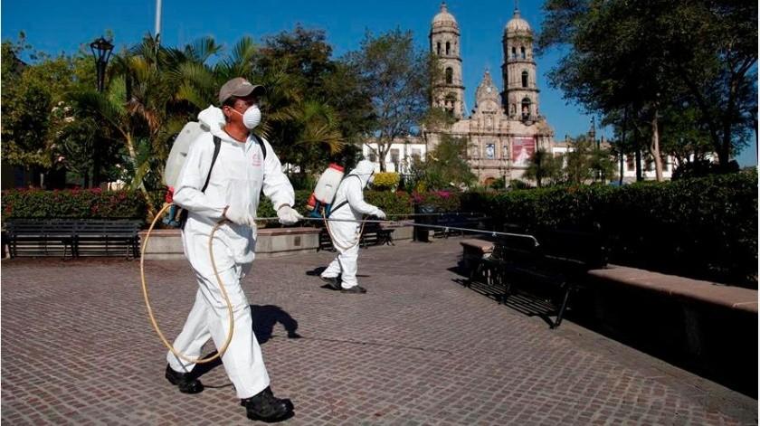 Covid-19 en México: 479 muertes y 6 mil 612 nuevos casos al corte de hoy(EFE)