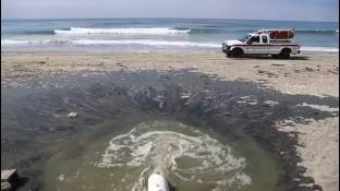 La Comisión Estatal de Servicios Públicos de Tijuana (Cespt) informó mediante su departamento de comunicación que se registró otro derrame de aguas residuales en Playas de Tijuana por una segunda falla en el cárcamo.