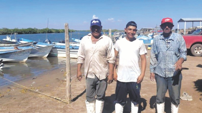 Sanos y salvos regresaron los pescadores que estaban extraviados en el Sur de Sonora.(Especial)
