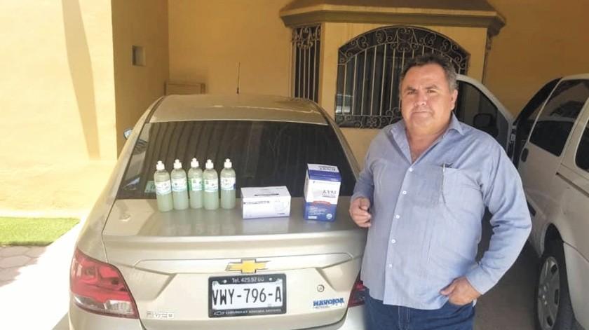 Pedro Díaz Félix, tiene 34 años como médico, y recién se recuperó de Covid-19.(Cortesía)