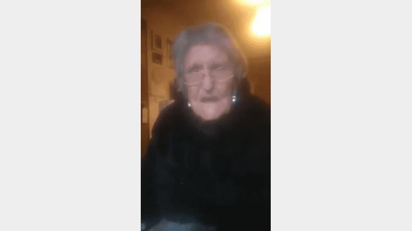 El pasado mes de septiembre Mary relató que las restricciones por Covid-19 en Escocia, la hacían sentir como una prisionera.(Captura de video)