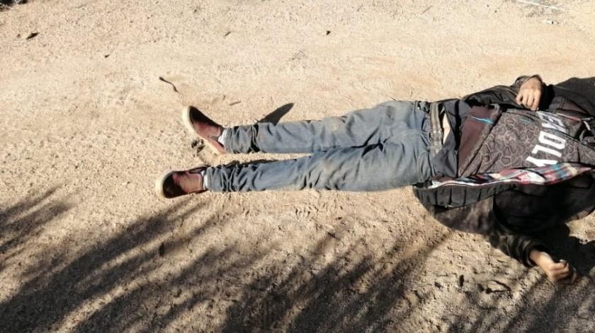 Otro homicidio, en Tecate(Cortesía)