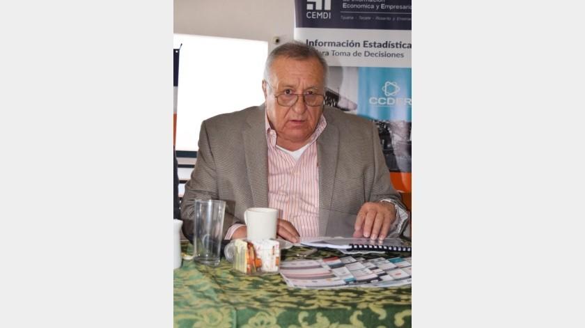 Javier Barraza Salazar, presidente del Consejo de Desarrollo Económico de Ensenada (Codeen).