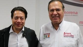 Felicita Arturo González a Mario Delgado por ganar dirigencia de Morena