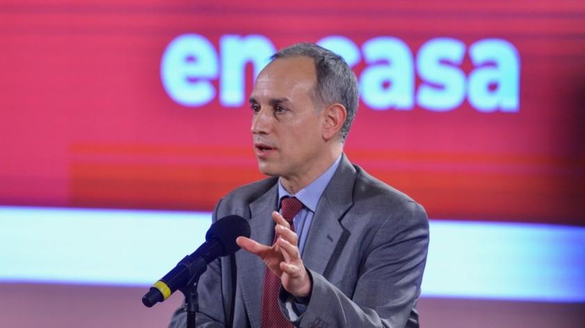 Cofepris no ha autorizado medicamento remdesivir para tratar Covid-19 en México: López-Gatell(Twitter @HLGatell)