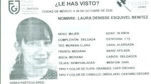Tras asalto Laura Denisse fue al ISSSTE por lesiones; firmó el alta y desapareció en la CDMX