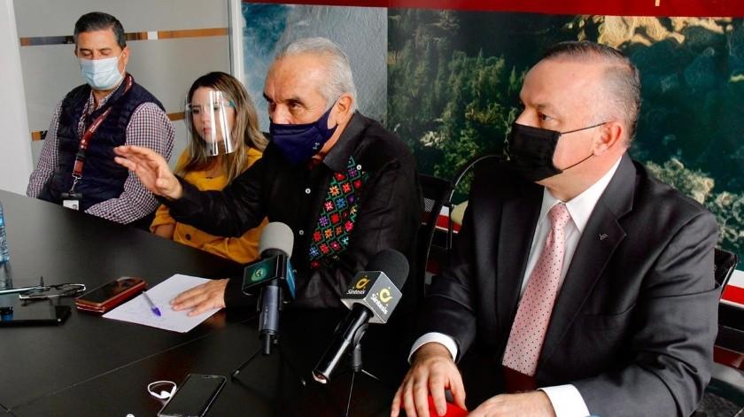 El comisionado de Coepris, Gutiérrez Inzunza anunció la medida en una rueda de prensa.
