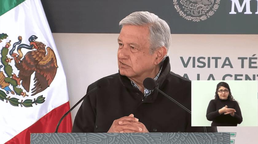 El presidente de México, Andrés Manuel López Obrador.(Especial)