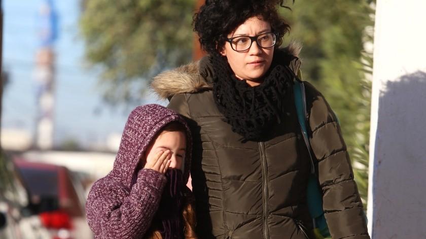 ¡A sacar las chamarras!: mínima de siete grados para el martes en Mexicali(Archivo)