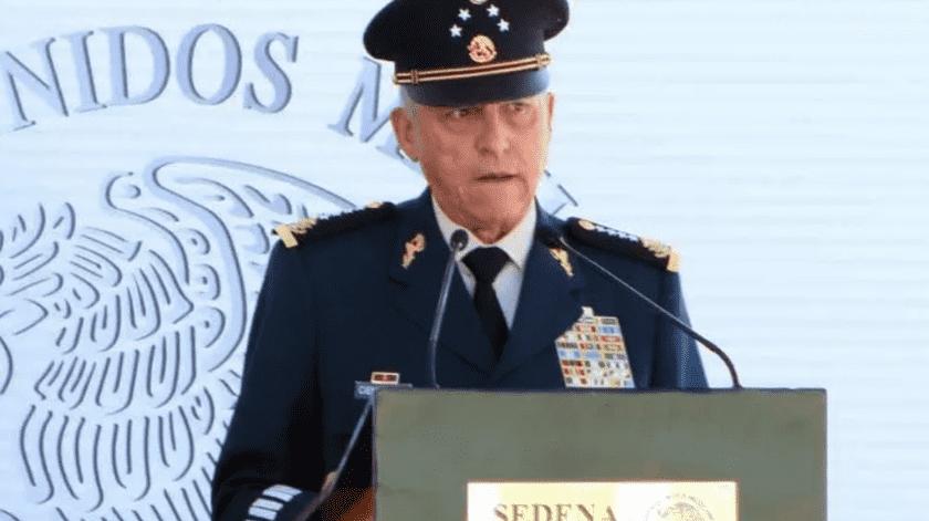 Salvador Cienfuegos Zepeda, ex secretario de la Defensa Nacional.(Archivo)
