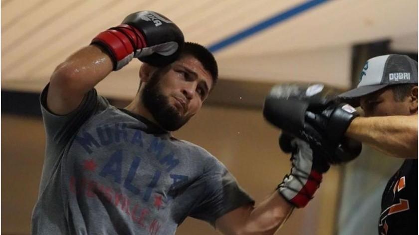 ¡Nadie lo imaginaba! Khabib Nurmagomedov anuncia su retiro después de ganar en UFC 254(Instagram @khabib_nurmagomedov)