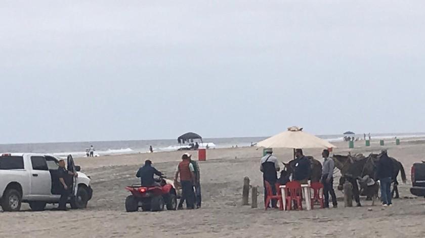 Regresan los caballos a las playas de Rosarito