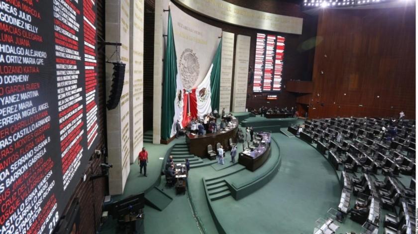 Oposición toma tribuna de San Lázaro ante aprobación a reforma de Fondo de Salud(Archivo GH)