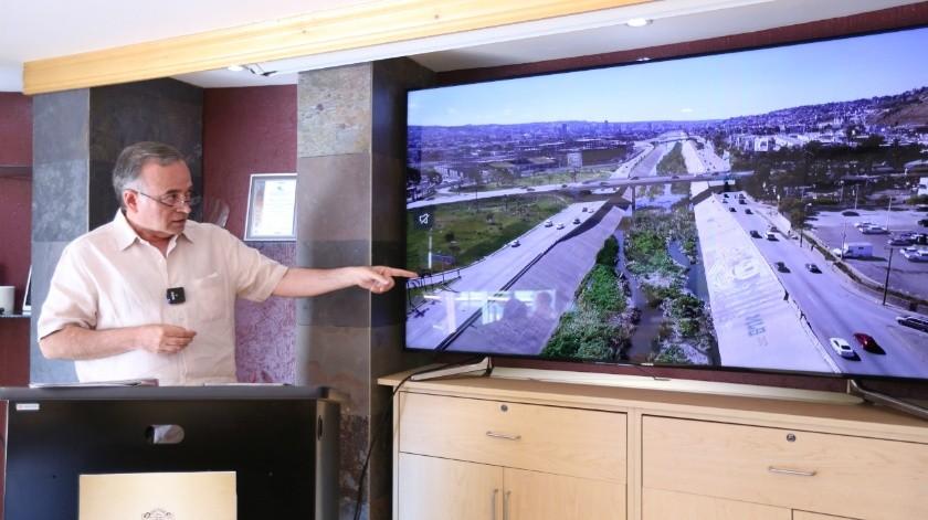 Cambiarán compuertas de la canalización del Río Tijuana(Cortesía)