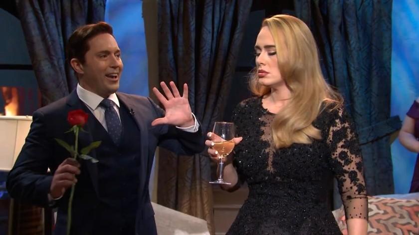 El sorprendente regreso de Adele en Saturday Night Live(Internet)
