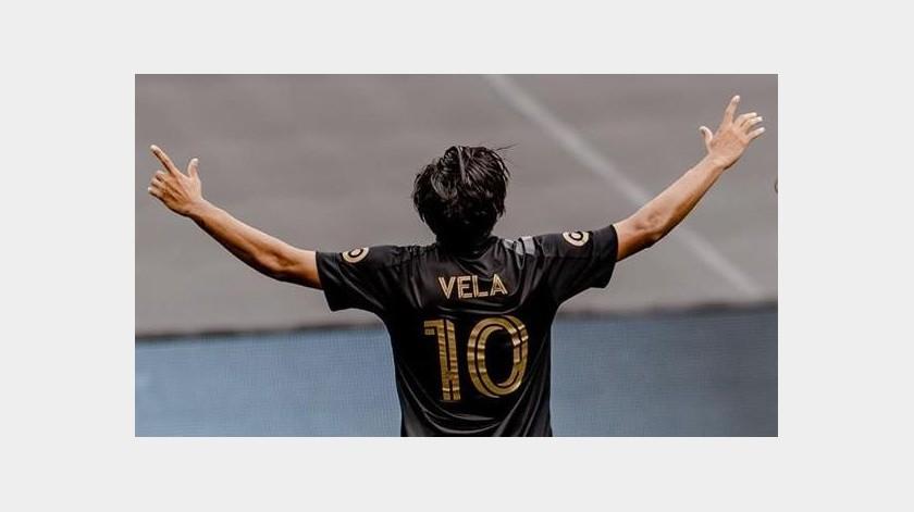"""¡Regresa el """"Rey Carlos""""! Vela marca gol en al victoria en el """"Clásico del Trafico"""" ante Galaxy(Instagram @lafc)"""
