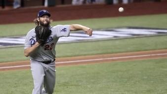 Clayton Kershaw fue el ganador por los Dodgers.