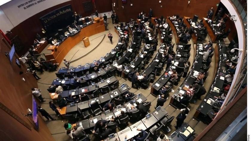Los representantes de cada bancada se reunió hoy con Ricardo Monreal(Archivo GH)