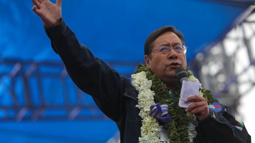 Luis Arce, nuevo presidente de Bolivia(EFE)