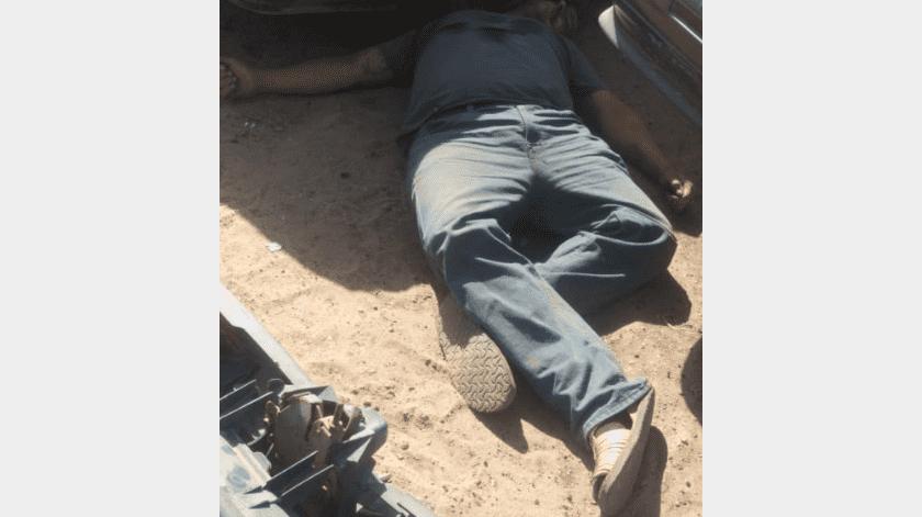 Asesinan a hombre en aparente venganza, en el valle de Mexicali(Cortesía)
