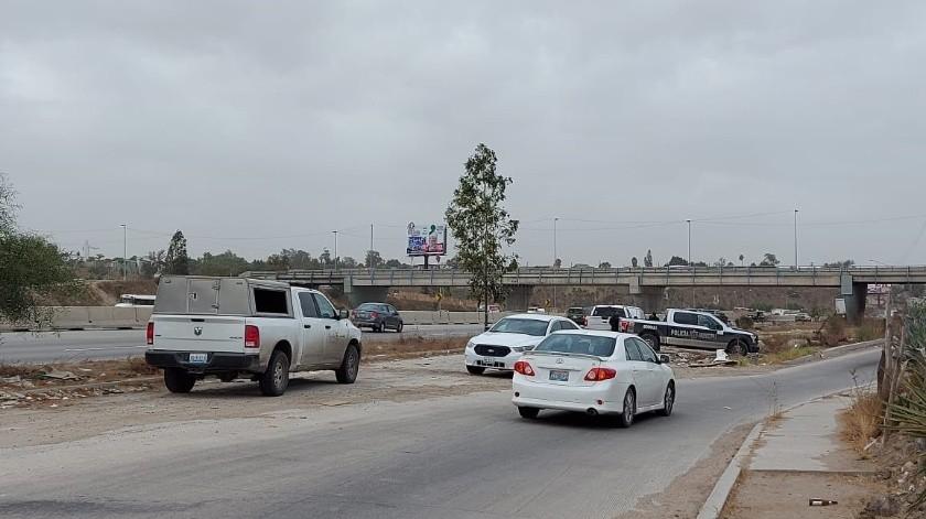 Un cadáver fue hallado a un costado de la Vía Rápida Alamar Oriente.(Margarito Martínez)